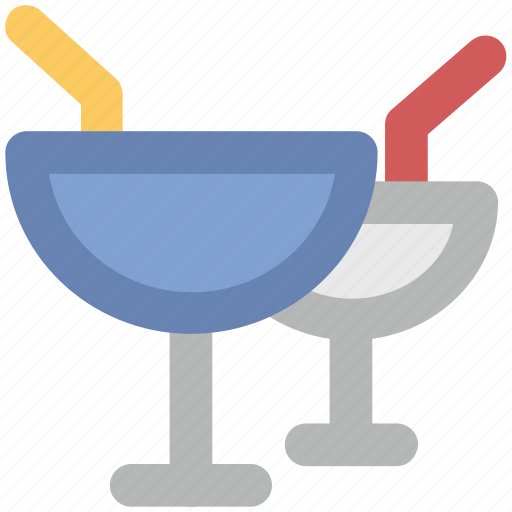 alcoholic, cocktail, crystal, glass, juice glass icon