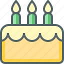 bakery, birthday, cake, dessert, food, party, sweet icon