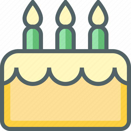 bakery, birthday, cake, dessert, food, party, sweet icon