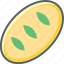 bread, breakfast, food, sandwich, toast, toaster icon
