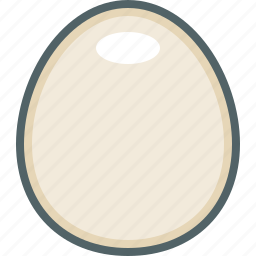 chicken, egg, eggs, food icon