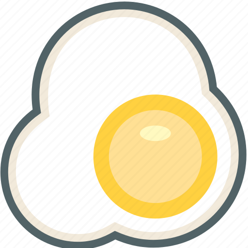 breakfast, egg, eggs, food, fried icon