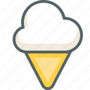 cold, cream, dessert, food, ice, icecream icon