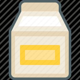 bottle, box, drink, milk icon
