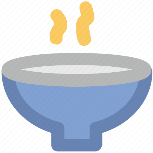 bowl, food, hot soup, meal, soup bowl icon