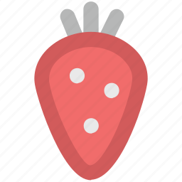 berry, food, fruit, healthy food, strawberry icon