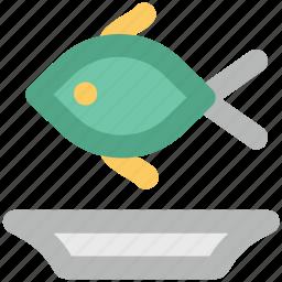 broast fish, fish, fish food, fish meat, healthy food, pisces, sea food icon