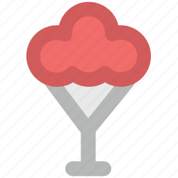 dessert, frozen dessert, frozen yogurt, ice cream, ice cream cup, sweet icon