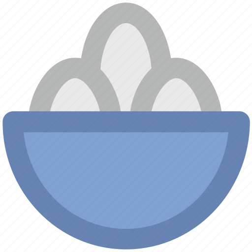 bakery food, biscuit in bowl, confectionery, dessert icon