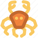 crab, crabmeal, fish, fish meat, meat, seafood icon