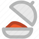chef platter, food, food platter, food serving, platter, serving platter icon
