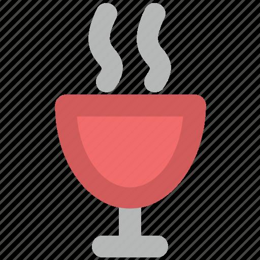 food, hot beverage, hot drink, hot food, platter, soup icon