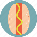 food, hot-dog icon
