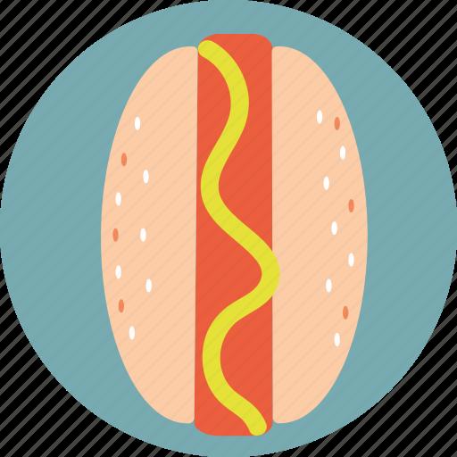 fast, food, hot-dog icon