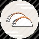 food, tacos icon