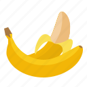 banana, food, fruit