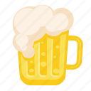 alcohol, beer, drink, glass, skin icon