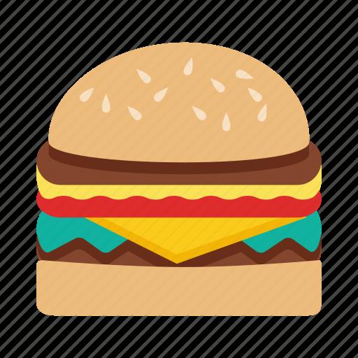 fast food, food, hamburger icon