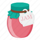 food, jam, jam-jar icon