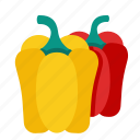 food, vegetable, pepper, bell pepper