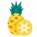 food, fruit, pineapple