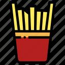 eat, french, fries, potato, vegetable, vegetarian