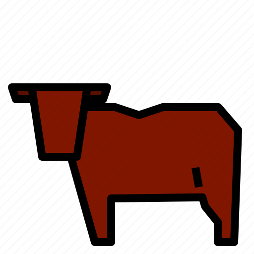 bull, cattle, cow icon