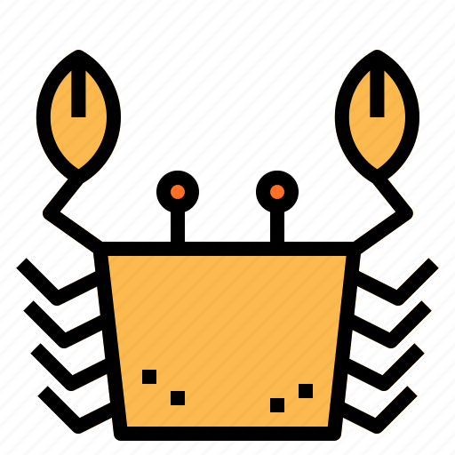 claw, crab, seafood icon
