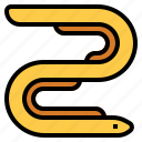 anguilla, eel icon