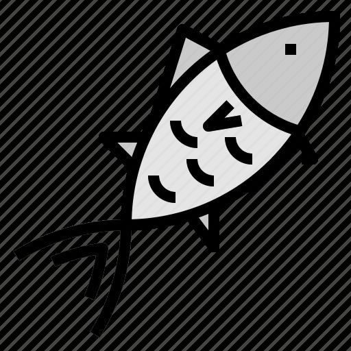 bluefin, tuna icon
