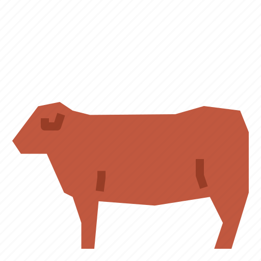 cattle, cow icon
