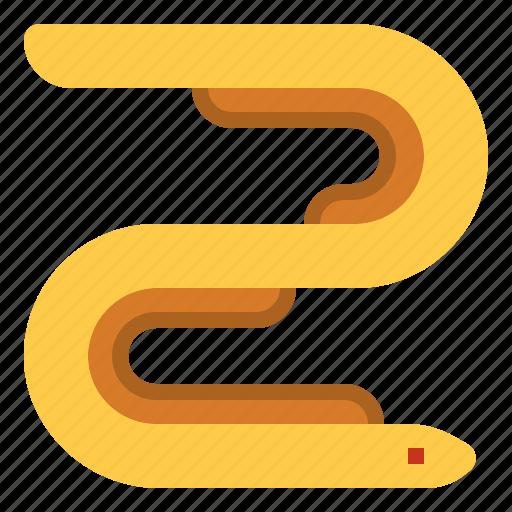 eel, fish icon