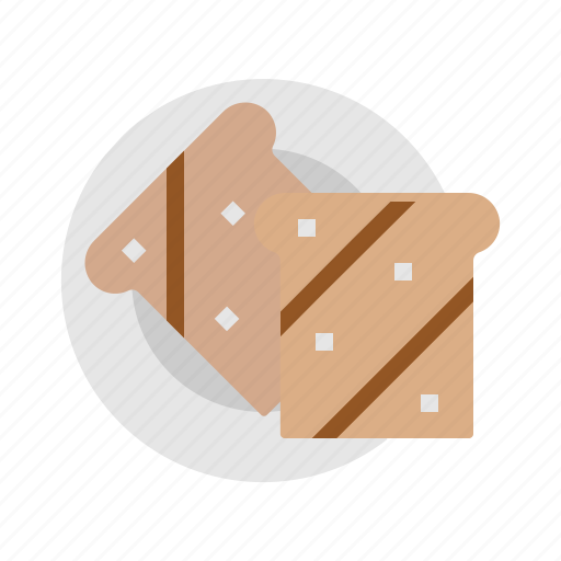 bakery, bread, breakfast, food, toast icon