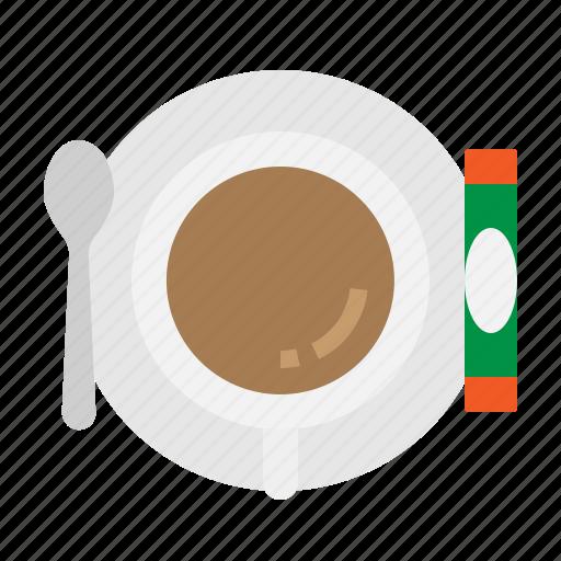 break, coffee, cup, hot, spoon icon