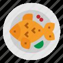 dish, fish, food, fried, steak