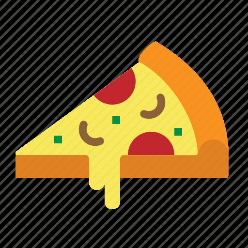 fast, food, italian, pizza, slice icon