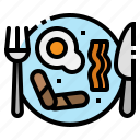 breakfast, food, fried, restaurant, rice icon