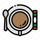 break, coffee, cup, hot, spoon icon