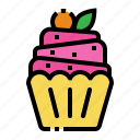bakery, cake, cup, cupcake, muffin icon