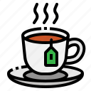 cup, drink, hot, organic, tea icon