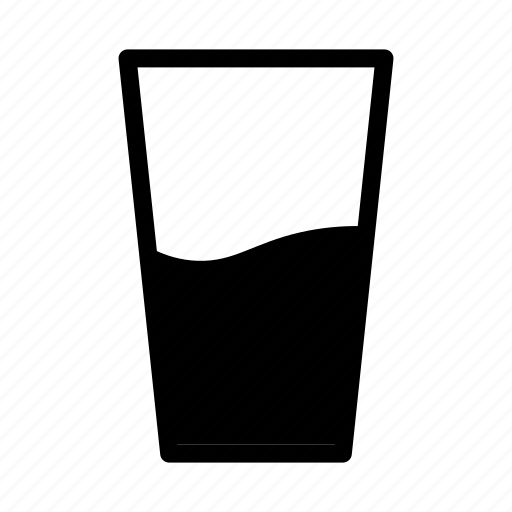beverage, drink, food, fresh, glass, mineral, water icon