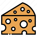 butter, cheese, dairy, food, ingredient icon