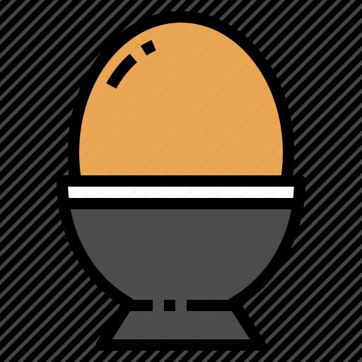 breakfast, cooking, egg, food, ingredient icon