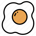 breakfast, egg, food, fried, omelette icon