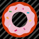 donut, dougnut icon