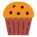 cake, cupcake, muffin