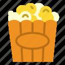 corn, popcorn icon