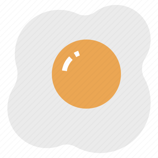 breakfast, egg, food, fried, omelette icon