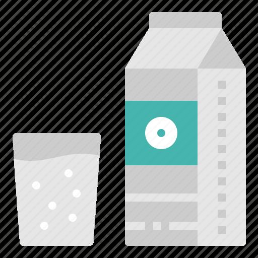 beverage, bottle, drink, glass, milk icon