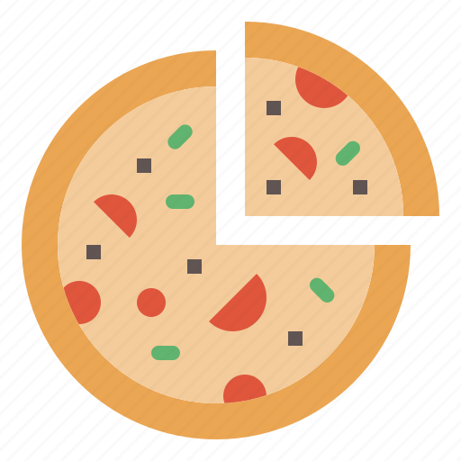 fastfood, italian, pizza, slice, snack icon